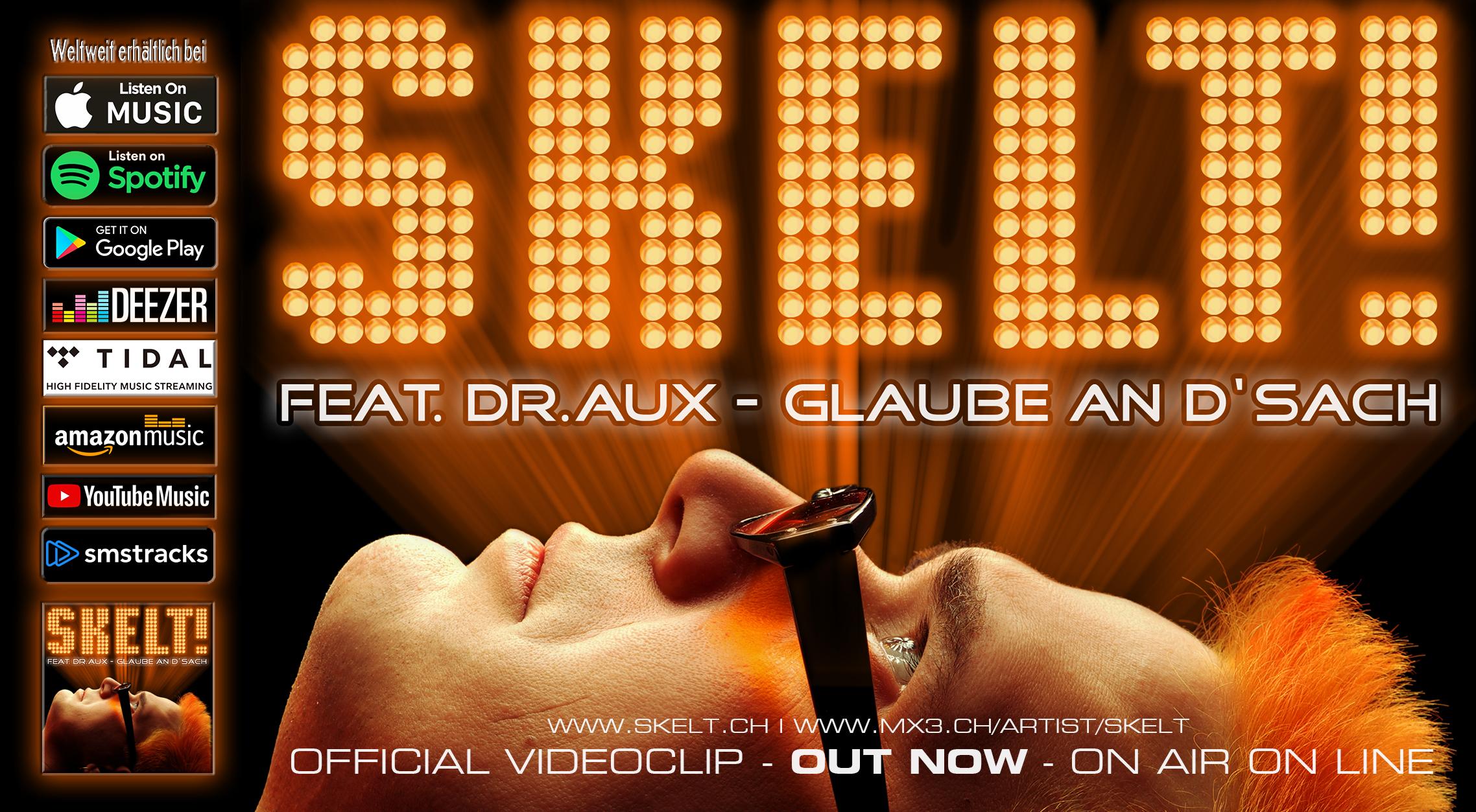 Skelt! feat. Dr.Aux - Glaube an d'Sach (Maxi / 2013)